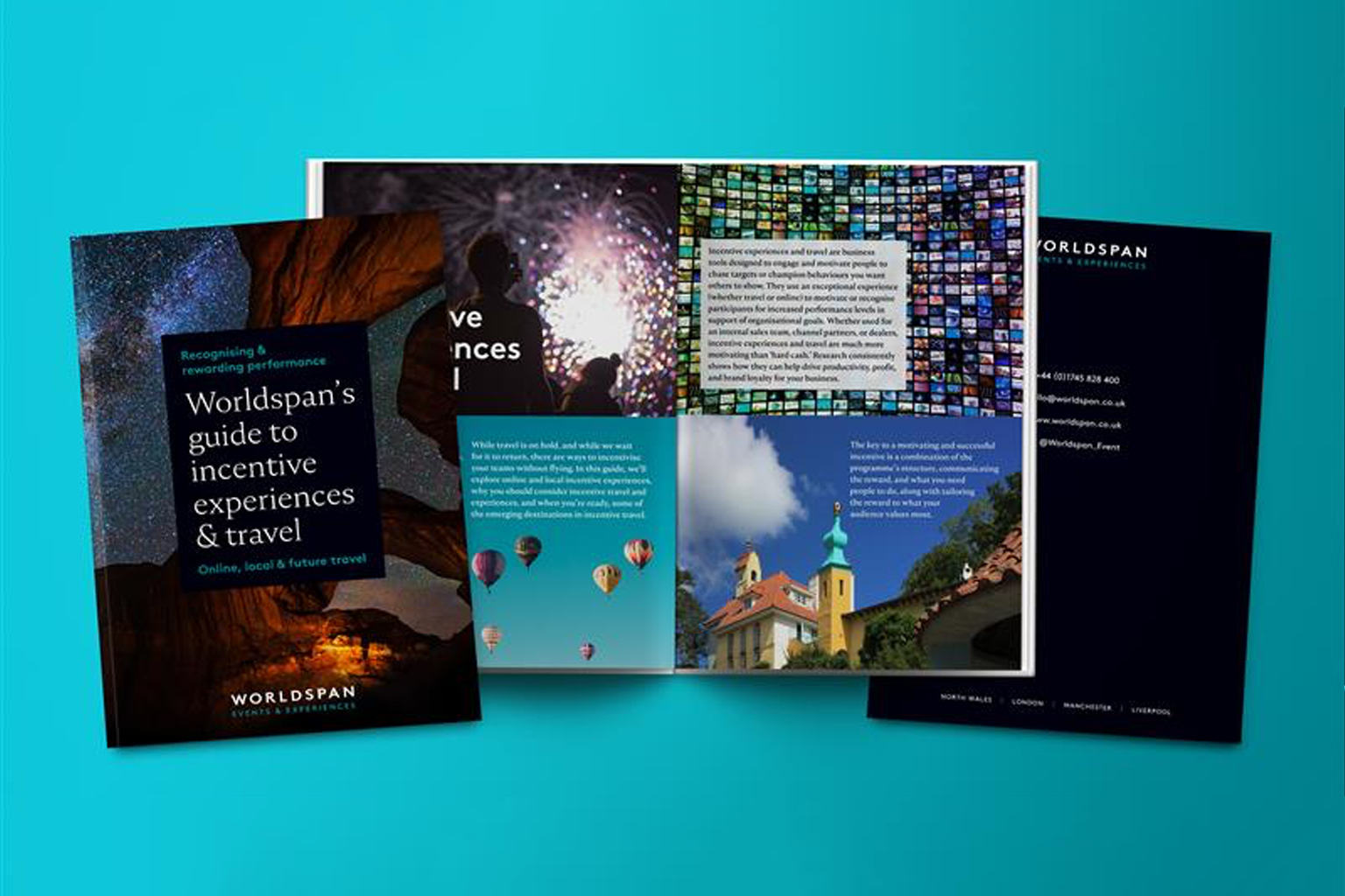 Worldspan's Guide to Incentive Experiences & Travel - online, locally and for when travel returns